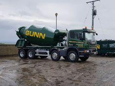 SCANIA /////// Cement Mixer Truck, Types Of Concrete, Concrete Mixers, Volvo, Trucks, Tractor, Vehicles, Goodies, Pumps