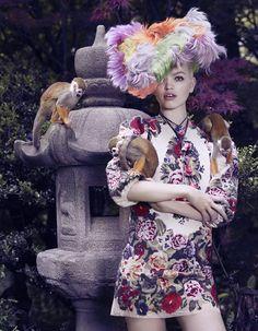 Daphne Groeneveld for Vogue Japan