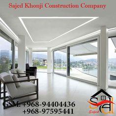 Recessed Ceiling, Led Ceiling Lights, Glass Ceiling, Ceiling Windows, Huge Windows, Ceilings, Linear Lighting, Lighting Design, Interior Lighting