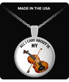 All I Care About Is My Violin violin