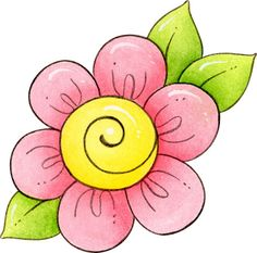 Resultado De Imagen De Flores Para Dibujar Con Color Flores