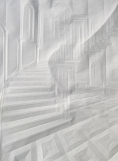 Simon Schubert / paper sculpture