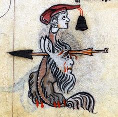 headshot'The Maastricht Hours', Liège 14th centuryBritish Library, Stowe 17, fol. 260v