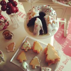 Christmas bundt cake 1:12