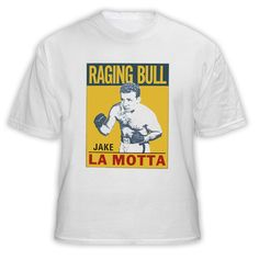 Raging Bull Jake Lamotta Boxing Legend Retro Boxing T Shirt