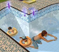 Mod The Sims - Toddler Month - Rebekah's Swim Tube Recolours