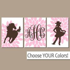 Hey, I found this really awesome Etsy listing at https://www.etsy.com/listing/112281206/cowgirl-wall-art-girl-horse-bedroom