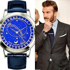 Adult-U Blog: David Beckham Shows Off His £200,000 Watch