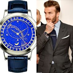 Adult-U Blog: David Beckham Shows Off His £200,000 Watch