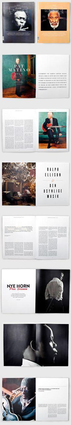 Jazz Special Magazine on Behance