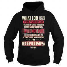 Drums Job Title T-Shirt #sunfrogshirt