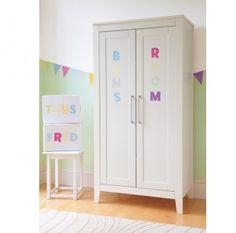 Alphabet Pastel Nursery Wall Stickers (Uppercase)