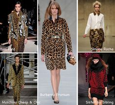 15 Autumn Winter 2013 Trends From London, New York, Milan And Paris To Try Now