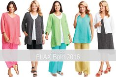 FLAX Design's FLAX Bold 2016 on sale at Fg Clothing. Today (4-4-17) save 25% off on FLAX Bold 2016 linen dresses, tops, tanks, pants and jackets.