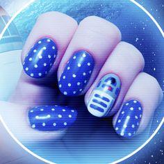 Nail art de R2 D2