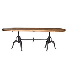 adjustable industrial table vintage tables from andy thornton andy thornton lighting