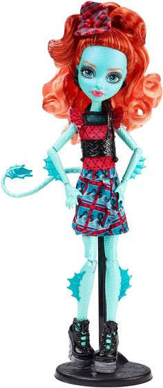 Amazon.com: Monster High Monster Exchange Program Lorna McNessie Doll: Toys & Games