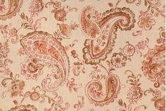 Paisley Drapery Prints Drapery Fabric - Discount Paisley Curtain Prints Curtain Fabric - FabricGuru.com