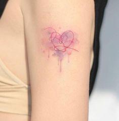 Kpop Tattoos, Army Tattoos, Korean Tattoos, Mini Tattoos, Body Art Tattoos, Tatoos, Quote Tattoos, Dainty Tattoos, Pretty Tattoos