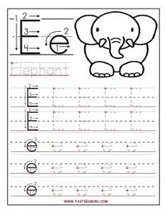 Not only letter tracing this site has lists of all sorts for each free printable letter d tracing worksheets for preschoolee writing alphabet letters worksheets for kids spiritdancerdesigns Choice Image