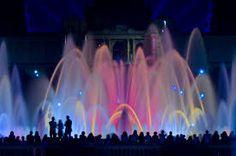 Font màgica de Montjuïc (Magic Fountain of Montjuïc), Barcelona, Spain Magic Fountain, Sydney Harbour Bridge, Concert, World, Photography, Travel, Barcelona Spain, Photograph, Viajes