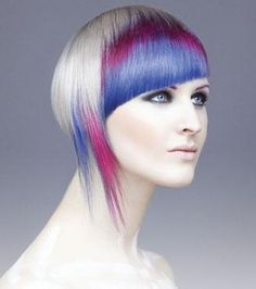 Modern Salon. I want to know how to keep the colors from running on all the other blonde hair???!!!