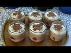 Pohárky - YouTube Pudding, Youtube, Food, Puddings, Youtubers, Meals, Youtube Movies