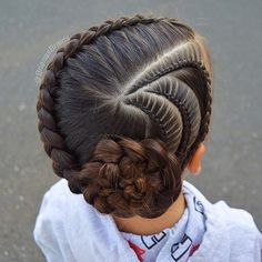 New braids for kids pony tail girl hairstyles ideas Pretty Hairstyles For School, Girls School Hairstyles, Kids Braided Hairstyles, Girl Haircuts, Little Girl Hairstyles, Trendy Hairstyles, Teenage Hairstyles, Beautiful Hairstyles, Black Women Hairstyles