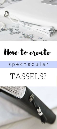 How to create spectacular tassels? #diy #doityourself #howto #tassels