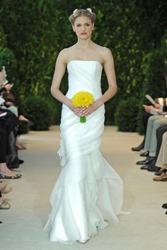 abito da sposa Anna Carolina Herrera Spring 2014