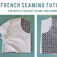 French All Your Seams - Grainline Studio Sewing Basics, Sewing Hacks, Sewing Tutorials, Sewing Crafts, Sewing Projects, Sewing Tips, Sewing Ideas, Sewing Stitches, Sewing Patterns