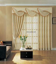 unique curtain designs, french curtain models in green | curtain