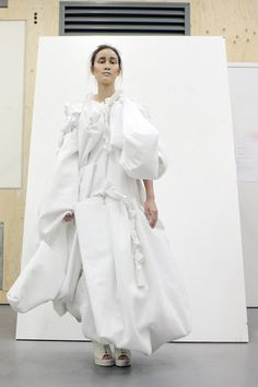 View all the pictures of Central Saint Martins' White Show 2013 on 1Granary.com, by the 1st year design students in collaboration with FCP.