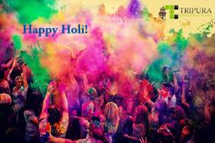 Holi is the festival of colours.  TRIPURA CONSTRUCTIONS wishes you a fabulous holi that brings more colours to your life.