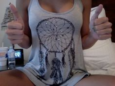 I seem to like this dream catcher top for some reason lol