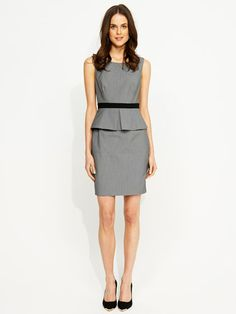 Image for Sienna Peplum Work Dress from Portmans