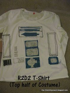 R2D2 - Adult Costume Made (part II)