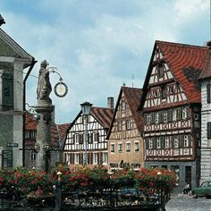Romantic Road in Germay - Photo Gallery: Medieval Town Square