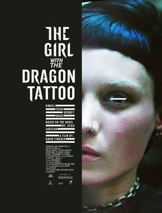 The Girl with the Dragon Tattoo by Igor Ramos, via Behance