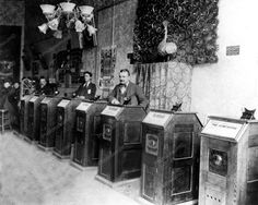Kinetoscope Parlor San Francisco 1894 8x10 Reprint Of Old Photo