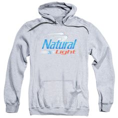 NATURAL LIGHT-ADULT PULL-OVER HOODIE-ATHLETIC HEATHER