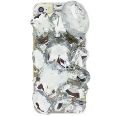 Bling Deluxe iPhone 5 Case. Blinged out iphone case gives new meaning iphone obsessed