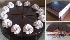 Famózní smetanový dort s Eclair kuličkami High Sugar, Russian Recipes, Drip Cakes, Eclairs, Sushi, Cheesecake, Deserts, Food And Drink, Yummy Food