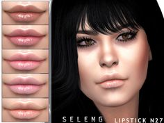 Lipstick for female Found in TSR Category 'Sims 4 Female Lipstick' The Sims 4 Packs, Sims 4 Build, Sims Community, Sims Resource, Sims 4 Mods, Electronic Art, Sims Cc, Animal Crossing, How To Become