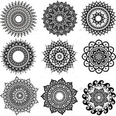 Buy Round Ornament Pattern by on GraphicRiver. Zip contains: 1 JPEG file, 1 . Mandala Design, Mandala Pattern, Simple Mandala Tattoo, Sun Mandala, Mandala Art Lesson, Mandala Drawing, Rundes Tattoo, Ornament Pattern, Silhouette Tattoos