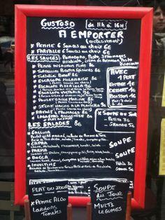 Carte du Jour Penne, Creme, Dish, Cards, Pens