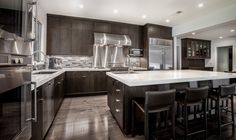 amazing custom kitchen cabinets modern dark wood kitchen cabinets