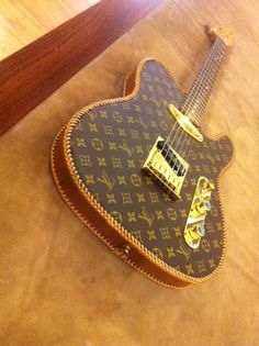 Worst Thing In The World of The Day: Fender Louis Vuitton Telecaster