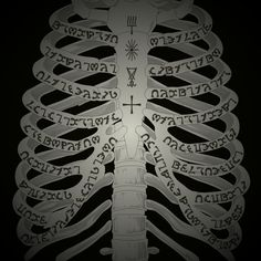 SUPERNATURAL Enochian Ribs