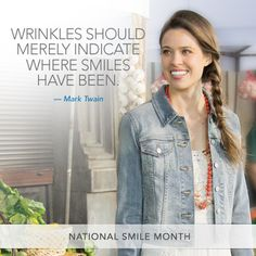 In celebration of National Smile Month...a Mark Twain quote!